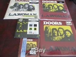 The Doors L. A. Woman Rare Set Lp + Sessions 180 Gram +singles 45 Box +japan CD