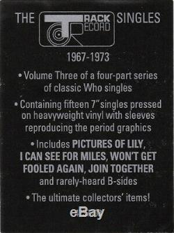 The Who The Track Records Singles 1967-1973 BOX Set Viny 14LP7 New&Sealed