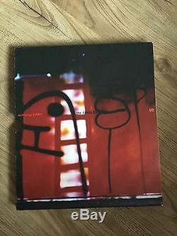 U2 Achtung Baby The Singles 7 Clear Vinyl Box Set RARE COLLECTIBLE