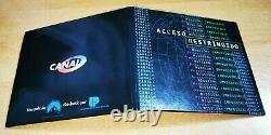 U2 Mission Impossible ULTRA RARE SPANISH PROMO CD SINGLE ACCESO RESTRINGIDO U 2