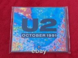 U2 October 1991 Ultra Rare UK Radio Promo Cd 250 Pressed Cat No U2-3