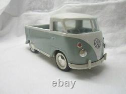 Vintage 1960s Buddy L Pressed Steel Volkswagen Bus Single Cab