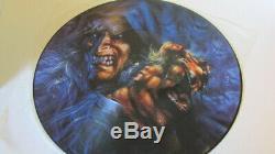 WARLOCK (DORO) Triumph and Agony PROMO Lim. Picture Vinyl + Display HEAVY METAL