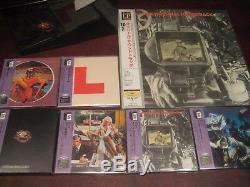10cc Original Soundtrack 200g Lp + 10cc & Godley Creme 6 Japon Obi CD Box Titres