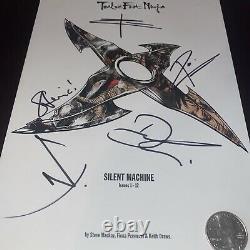 12 Twelve Foot Ninja Silent Machine Comic 1st Pr 2012 Oop Signé À La Main Autographe