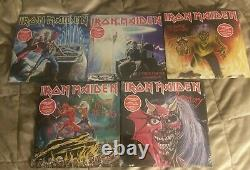 (15) Iron Maiden 7 Vinyl New Sealed, As, Wrathchild, Hills, Purgatory, Beast, Gratuit