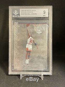 1995-1996 Upper Deck Special Edition Argent. Michael Jordan # 100 Bgs 9rare