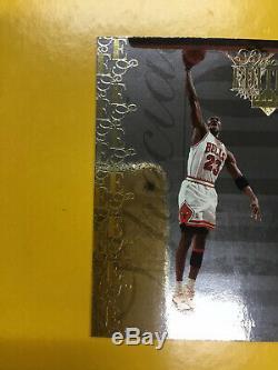 1995-1996 Upper Deck Special Edition Gold # Se100 Michael Jordan Near Mint-mint