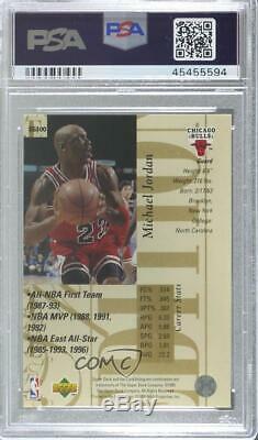 1995-1996 Upper Deck Special Edition Or Michael Jordan # Se100 Psa 8,5 Hof