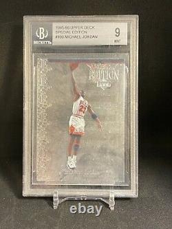 1995-96 Upper Deck Special Edition-silver. Michael Jordan #100 Bgs 9rare