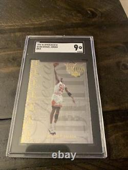 1995-9upper Deck Michael Jordan Special Edition Gold Se100. Sgc 9