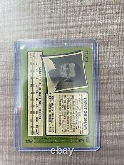 2020 Topps Heritage High Number Trent Grisham Special Edition Red Ink Auto /71