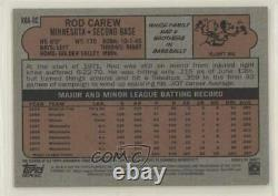 2021 Topps Heritage Real One Special Edition Red Ink /72 Rod Carew Auto Hof