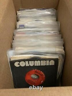 31 Vicente Fernandez Vinyl Lot 7 45 RPM Records Jukebox Aca Entre Nos El Tahur