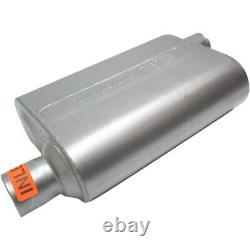 8042443 Flowmaster Muffler Nouveau Pour Chevy Olds Blazer Cutlass Oval Ford Mustang