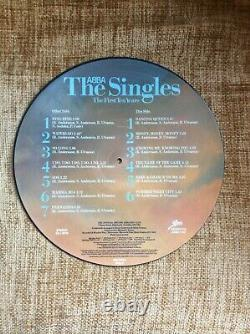 Abba The Singles The First 10 Ans Picture Disc Complete Box Set