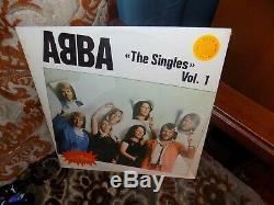 Abba, The Singles, Vol 1, Venezuela, Lp, Nouveau, Monnaie, Nuevo, Unopened, Promo