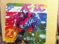 Ac DC Haute Tension Mega Rare 12 Picture Disc Shaped Promo Lp
