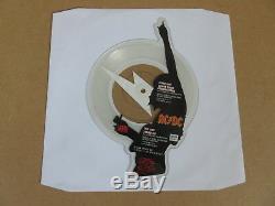 Ac / DC Secouez Vos Fondations Disque D'images Vinyle En Forme Angus 7 En Appuyant Sur A9474p