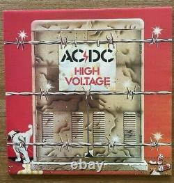 Ac/dc Vol 1 Box Set (non Joué) 6 Albums + Bonus 12 Unique. Hautement Récupérable