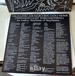 Actuel 93 Starres Marchent Tristement Chez Eux Signed Ltd Art Edn # 3/31 David Tibet