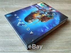 Aquaman Hdzeta Exclusif 4k Uhd Blu-ray Steelbook Simple Lenticulaires New Sealed