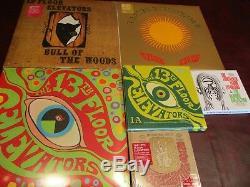 Ascenseurs Du 13ème Étage Psychédélique Bull Woods Pâques + Simples 13 Lp's + 6 CD Set