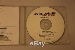 Avril Lavigne Sous Ma Peau, Édition Spéciale Japan Only CD Promo Dj Tres Rare