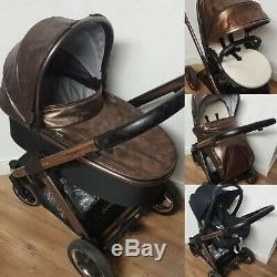 Babystyle Oyster 2 Special Edition En Or Rose Et Cuivre 3 En 1 Voyage