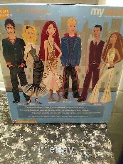 Barbie My Scene Dolls Night On The Town Htf & Single Poupées Garçons Filles New Sealed
