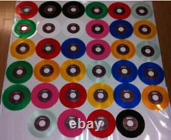 Beatles 45s X 34 Purple Label Jukebox Set Rare 7 Mint Coloured Vinyl, 1992-96