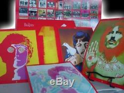 Beatles Best 27 # 1 Hits Sealed 2 Lp Original 2000 Release + 45 Boite Singles + CD