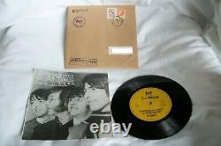 Beatles Christmas Time Rare 7 Vinyle Pour Les Membres Du Fan Club Yougoslave Seulement