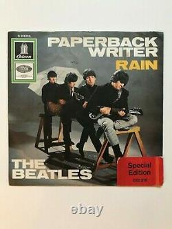 Beatles Si Paperback Writer, O 923 210, Exlibris-special Edition Für Die Schweiz