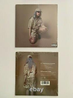 Billie Eilish Vous Devriez Me Voir Dans Une Couronne 7 Pouces Amber Vinyl Lp Seeled New Rare