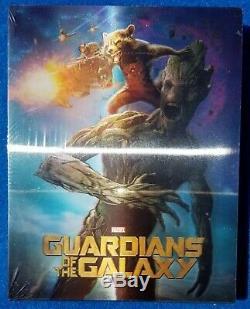 Blufans Gardiens Du Vol Galaxy 1 Simple Glissement Lenticulaire Bluray De Steelbook