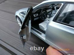 Bmw M5 E60 118 V10 Last Aspirated Toy Car Individuel Aventurine Silver Metallic