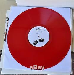 Bobine Ape Of Naples / Nouvelle Arrière Signée Peter Christopherson Rouge Vinyle 4xlp Box