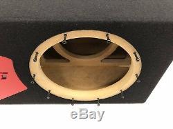 Caisson De Grave Portatif Jl Audio 10w6v3, Special Edition Avec Garniture De Port Plexi Rouge