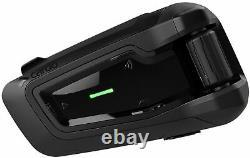 Cardo Packtalk Black Special Edition Communication System Haut-parleurs Jbl Unique