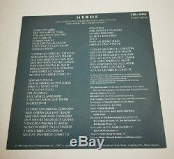Carey Mariah Heroe Chantées En Espagnol Ultra Rare Espagnol + CD Single Promo Insert