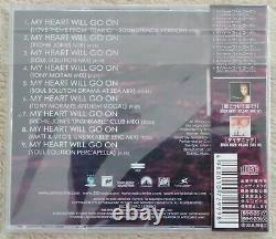 Céline Dion -mon Cœur Va Continuer. Dance Mixes-2 /cd, Maxi-single, 9 Titres, 1998