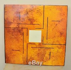 Coil Gold Est Le Manchon Métallique Non Fini Ltd Ed 1/25 Vinyle Rouge + 7 Ois Rare