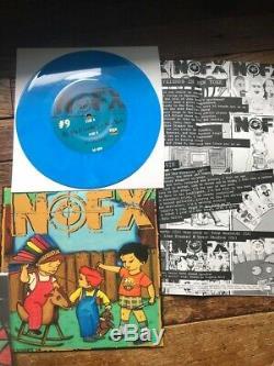 Complet 2005 Nofx 7 Pouces Du Mois Club Fat Wreck Original 7 45 Nm