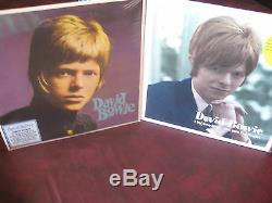 David Bowie 1966 Pye Célibat Et S / T Mono / Stereo 180 Gram Epuise Étanche 3 Lp