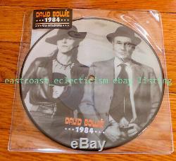 David Bowie 1984 + Live 7 '' 45 Picture Disc Vinyl Record 2014 Rsd Nouveau