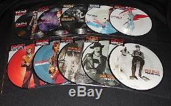 David Bowie Ensemble 40ème Anniversaire De 10 Picture Disc 7 Vinyl Nouveau Très Rare Oop