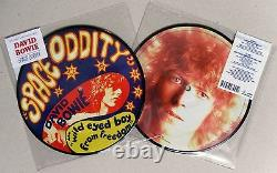 David Bowie Oddity Space 40th Anniversary Limited Ed 7 Picture Disc Bn