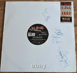 Def Leppard Love 12 D. J. Edition Single Signed Autographed