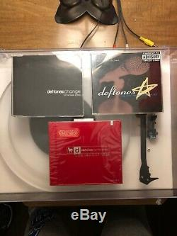 Deftones Poney Blanc CD Red Limited Edition Scellés! Plus Un Bonus Singles